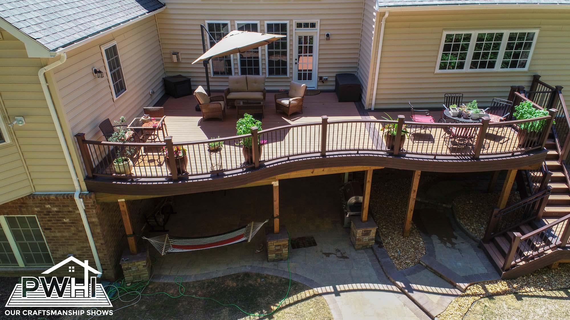 Image of: Custom Deck Design Ideas Prince William Home Improvement