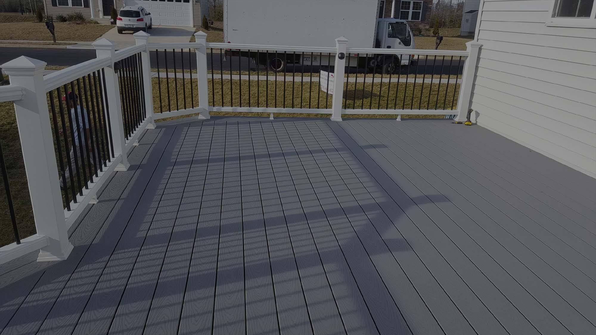maintaining trex decking